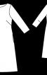 Злегка розкльошена сукня-футляр  - фото 3