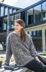 Пуловер із застібкою поло - фото 1