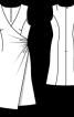 Сукня з ефектом запаху - фото 3