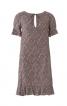 Сукня приталеного силуету з воланами - фото 2