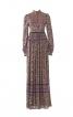 Закрита  довга сукня із комірцем стійкою  - фото 2