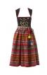 Сукня дірндль з декоративними монетками - фото 2