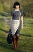 """Сукня з """"блискавкою"""" - фото 6"""