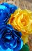 Квіти з тканини - фото 1