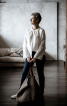 Біла блузка в стилі Етно - фото 1