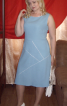 Сукня оздоблена кантом - фото 1