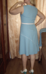 Сукня оздоблена кантом - фото 3