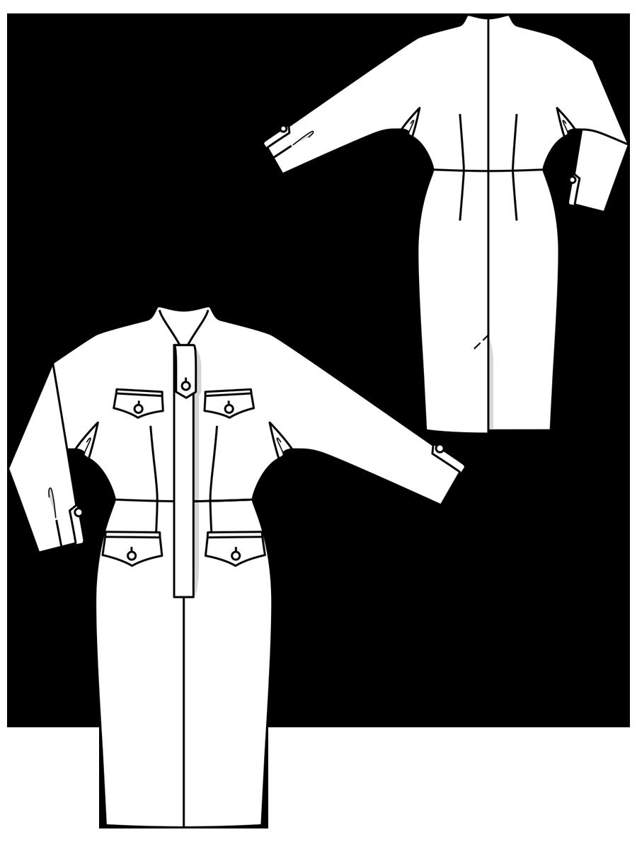 Викрійка Сукня вінтажна з обкладинки Burda 1 1957  купити викрійки ... df2fb529e34a2